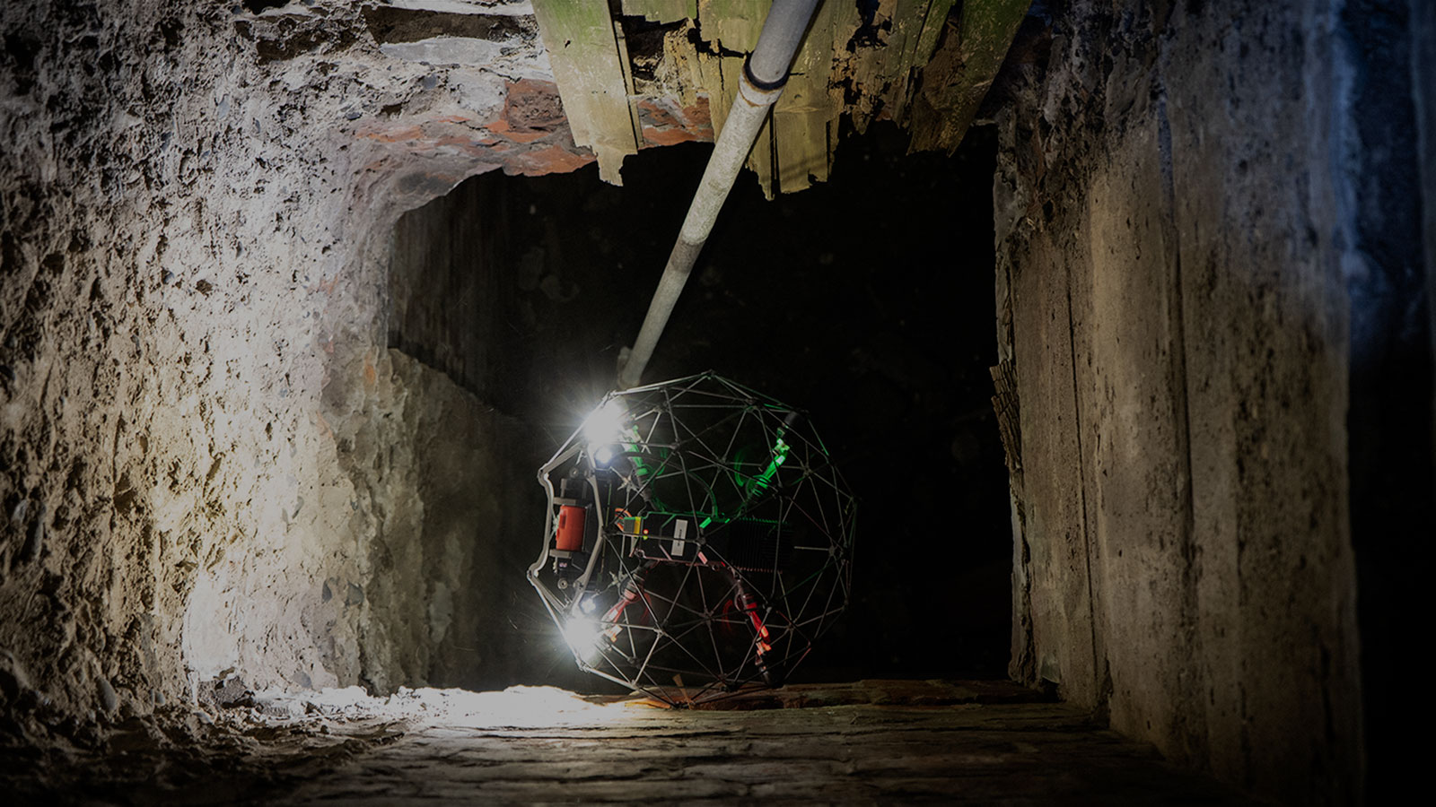 internal drone for survey and inspection within a confined space