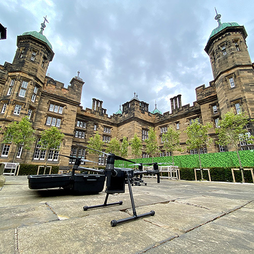 Aerial_Survey_Donaldsons_School_Edinburgh_Matrice 210_courtyard